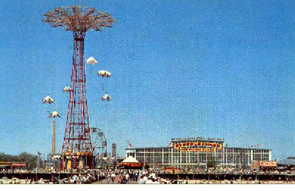 George c tilyou s great steeplechase park coney island for Steeple chase